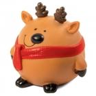 TRIOL /Игрушка для собак Мяч-северный олень 85мм/12101140