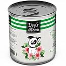 Dog`s Menu 340 гр./Консервы для собак Хаггис из Ягненка и риса