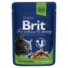 """Brit Premium 100 гр./Брит премиум Влажный корм для кошек Курица"""" премиум для кастрированных котов и стерилизованных кошек"""