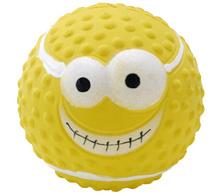 HOMEPET Игрушка для собак мяч латекс 7,3 см.