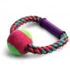 Triol/Игрушка  для собак Верёвка-кольцо с ручкой, мяч/0124XJ