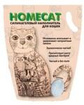 HOMECAT 7,6 л./Хоум Кэт наполнитель силикагелевый без запаха