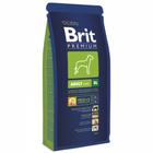 Brit Premium Premium Adult XL 15 кг./Брит сухой корм для взрослых собак гигантских пород