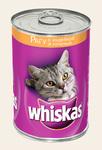 Whiskas 400гр./Вискас консервы для кошек Рагу с индейкой и печенью