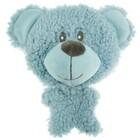 AROMADOG /Игрушка для собак BIG HEAD Мишка 12 см голубой/WB16954-1