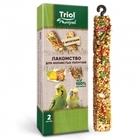 TRIOL /Лакомство для волнистых попугаев с фруктами (упк. 2 шт.)55 гр./50161014/