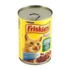 Friskies//Фрискис консервы для кошек с кроликом,печенью и овощами 400 г