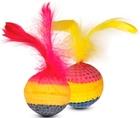 TRIOL/ Игрушка для кошек Мяч радужный 1шт.(уп.25шт.)22131021