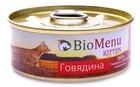 BioMenu KITTEN 100 гр./БиоМеню консервы для котят паштет с говядиной