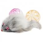 Triol/Игрушка  для кошек набор/2 мяча+мышь/0329