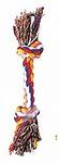HOMEPET Игрушка для собак канат с узлами 15см. 45 гр./70279