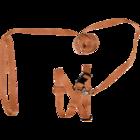 Зооник/Комплект стропа д/кошек (шлейка+поводок, фаст.) 14 мм  1319-1