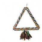 Dezzie 5608066//Деззи игрушка для птиц Треугольник 25 см