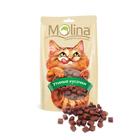 Molina 80 гр./Молина Лакомство для кошек Утиные кусочки