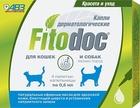 FITODOC капли дерматологические для мелких пород собак и кошек