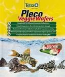 TetraPleco Veggie Wafers 15 гр./Корм-пластинки с добавлением цуккини для донных рыб