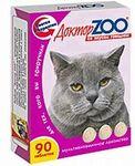 Доктор ЗОО//витамины для кошек со вкусом говядины 90 таб.