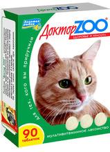 Доктор ЗОО//витамины для кошек здоровье и красоба 90 таб.