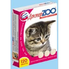 Доктор ЗОО//витамины для котят 120 таб.
