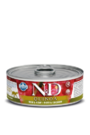 Farmina N&D Quinoa Skin & Coat Duck 80 гр./Фармина Здоровье кожи и шерсти. Полнорационный влажный корм для взрослых кошек. Утка и кокос.