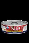 Farmina N&D Quinoa Digestion 80 гр./Фармина Поддержка пищеварения. Полнорационный влажный корм для взрослых кошек.