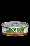 Farmina N&D Chicken and Pomegranate 80 гр./Фармина Курица и гранат. Полнорационный влажный корм для взрослых кошек.