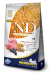 Farmina N&D Low Grain Dog Lamb & Blueberry Puppy Mini 2,5 кг./Фармина сухой корм для щенков мелких пород  Ягненок и черника
