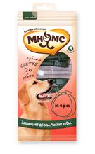 Мнямс 6 шт./ Зубные щетки для собак. Размер M