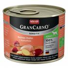 Animonda GranCarno Sensitiv 200 гр./Анимонда консервы для собак с чувствительным пищеварением  с курицей и картошкой