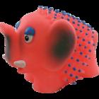Зооник 164108/Игрушка для собак Слон-игольчат. 8.5см.