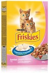 Friskies Junoir 400 гр./Фрискис сухой корм для котят с курицей, морковью и молоком