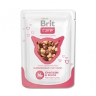 Brit Care 80гр./Брит Каре Суперпремиальный влажный корм для кошек Курица и утка