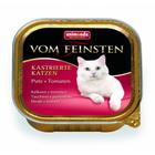 Animonda Vom Feinsten for castrated cats 100 гр./Анимонда консервы для кастрированных кошек с индейкой и томатами