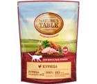 Nature`s Table 190 гр./Натурис табл сухой корм для кошек с курицей