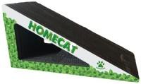 HOMECAT/ 53х24х24 см когтеточка треугольник большой с кошачей мятой гофрокартон