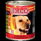 Зоогурман BIG DOG 850 гр./Консервы Биг Дог для собак говядина с бараниной