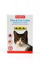 Beaphar SOS 35 см./Беафар ошейник от блох и клещей для кошек