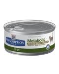 Hill's Metabolic 156 гр./Хиллс консервы для кошек диетические, для коррекции веса