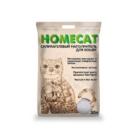 HOMECAT 30 л./Хоум Кэт наполнитель силикагелевый без запаха
