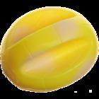 Зооник 16457/Игрушка для собак Мяч ребристый
