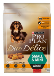 Pro Plan Duo Delice Small 2,5 кг./Проплан доу делис сухой корм для собак мелких пород с говядиной и рисом