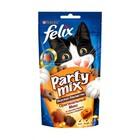 Felix Party Mix 60 гр./Феликс Лакомство для кошек Оригинальный микс, со вкусом курицы, печени и индейки