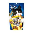 Felix Party Mix 60 гр./Феликс Лакомство для кошек Сырный микс, со вкусом чедера, гауды и эдама