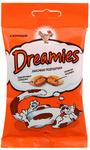 Dreamies 30 гр./Дримисиз лакомые подушечки для кошек с курицей
