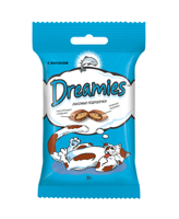 Dreamies 30 гр./Дримисизлакомые подушечки для кошек с лососем