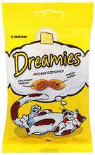 Dreamies 60 гр./Дримисиз лакомые подушечки для кошек с сыром