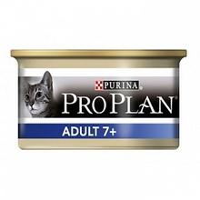 Pro Plan Adult+7 85 гр./Проплан консервы для взрослых кошек старше 7 лет с тунцом