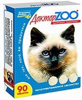 Доктор ЗОО//витамины для кошек здоровый иммунитет 90 таб.