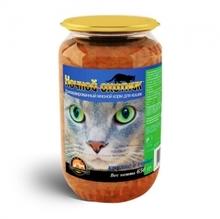 Ночной охотник//консервы для кошек Кролик и сердце 650 г (стекло)