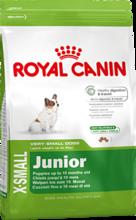 Royal Canin X-Small Junior 500гр./Роял канин сухой корм для щенков миниатюрных размеров до 10 месяцев